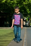 Boy thinking - Dusseldorf - Germany