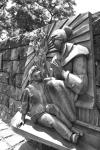Jose Rizal scene- Manila - The Philippines