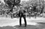 Jose Rizal - hit by the soldiers - Manila - The Philippines