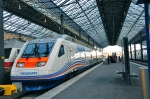 High Speed train Allegro from Helsinki to St Petersburg