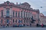 Anichkov Most and Nevski Prospect - St Petersburg
