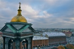 View from St Isaac's Cathedral - St Petersburg
