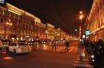 Nevski Prospekt by night - St Petersburg