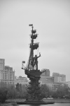 Peter the Great Statue - Moscow - Russia