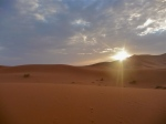 Sunset - Dunes - Erg Chebbi - Morocco