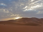 Sand dunes - Morocco - Sunset